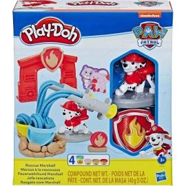 Hasbro - Play-Doh Paw Patrol Feuerwehrhund Marshall
