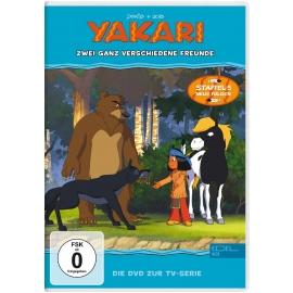 Edel:KIDS DVD - Yakari - Zwei ganz verschiedene Freunde, Folge 37