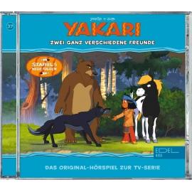 Edel:KIDS CD - Yakari - Zwei ganz verschiedene Freunde, Folge 37