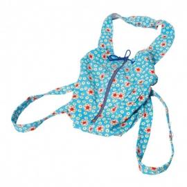 Puppentragesack, blau