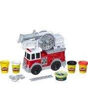 Hasbro E6103EU4 Play-Doh Wheels Feuerwehrauto Spielzeug mit 5 Dosen Play-Doh einschließlich Play-Doh
