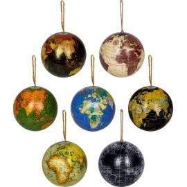 Weltkugel-Anhänger, klein Lieblingsstücke (ca. 10 cm)