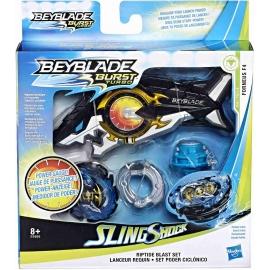 Hasbro - Beyblade Burst Turbo Slingshock Riptide Blast Set