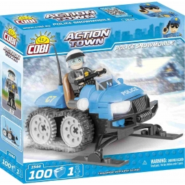 COBI - Action Town - Police Snowmobile