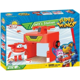 COBI - Super Wings - Jetts Station