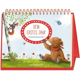 Coppenrath Verlag - BabyBär - Wickeltischkalender - Dein erstes Jahr