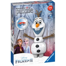 Ravensburger 111572 Puzzelball Disney™ Frozen Olaf 54 Teile