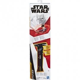 Hasbro - Star Wars™ - Kylo Ren rotes Lichtschwert Spielzeug für Kinder ab 6 Jahren mit Lichtern, Sou