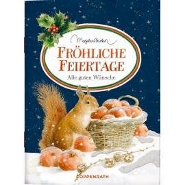 Schöne Grüße: Fröhliche Feiertage (M. Bastin/Weihnachten)