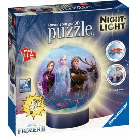 Ravensburger 111411 Puzzleball Disney™ Frozen 2 Nightlight 72 Teile