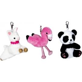 Anhänger Flamingo/Panda/Lama Lustige Tierparade, sortiert