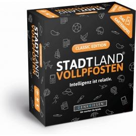 STADT LAND VOLLPFOSTEN: Das Kartenspiel _  Classic Edition