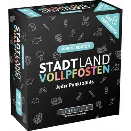 STADT LAND VOLLPFOSTEN: Das Kartenspiel _  Junior Edition