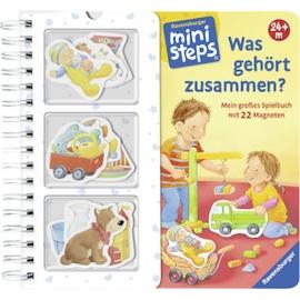 Ravensburger 31736 Was gehört zusammen?: Mein großes Spielbuch mit 22 Magneten