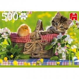 Jumbo Spiele - Bereit für ein Picknick - 500 Teile