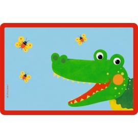 Tischset Krokodil  Freche Rasselbande