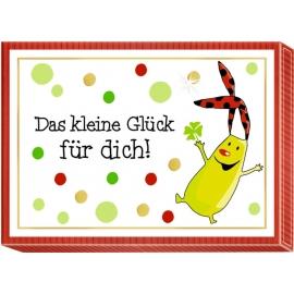 Botschaften-Schachteln Das kleine Glück schenken! (4x6)