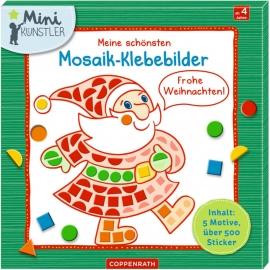 Meine schö. Mosaik-Klebebilder: Frohe Weihnachten! (Mini-K.)