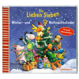 Musik CD: Die Lieben Sieben. Winter- und Weihnachtslieder