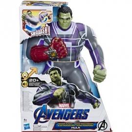 Hasbro - Avengers - Endgame Elektronischer Hulk 35 cm große Action-Figur mit 20+ Sounds und Sätzen
