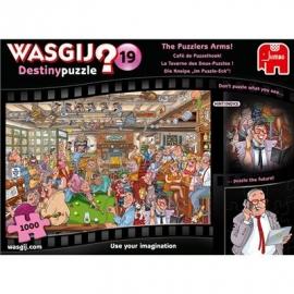 "Jumbo Spiele - Wasgij Destiny 19 - Die Kneipe ""Im Puzzle-Eck""! - 1000 Teile"