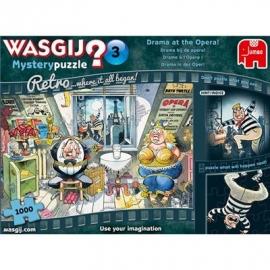 Jumbo Spiele - Wasgij Retro Mystery 3 - Drama in der Oper! - 1000 Teile