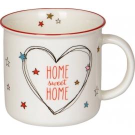 Porzellan-Tasse Home sweet home (... for Christmas)