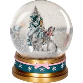Glas-Schneekugel Aschenbrödel