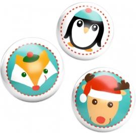 Leuchtflummi Weihnachtsgeschenke für Kinder, sortiert