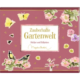 Stickerbuch - Zauberhafte Gartenwelt (M. Bastin)