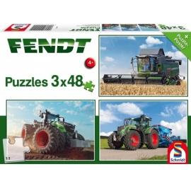 Schmidt Spiele - Puzzle - Fendt 1050 Vario / 724 Vario / 6275L, 48 Teile
