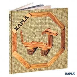 KAPLA Bücher - Buch 4 Einfache und lustige Tiere Beige - LIVR4