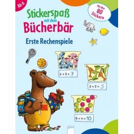 Reimers, Silke: Stickerspaß mit dem Bücherbär  Erste Rechenspiele