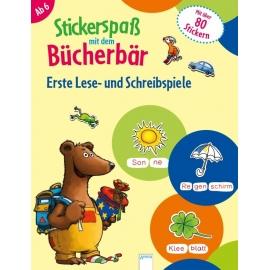 Reimers, Silke: Stickerspaß mit dem Bücherbär  Erste Lese- und Schreibspiele
