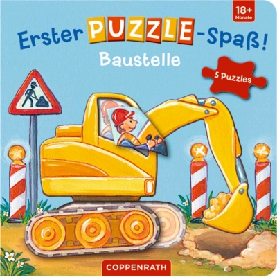 Coppenrath Verlag - Erster Puzzle-Spaß! Baustelle
