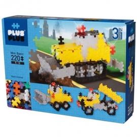 Plus-Plus - 3in1 Basic Road Work 220 pcs