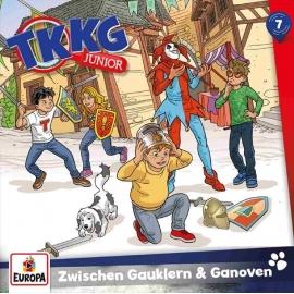 Europa - CD TKKG Junior - Zwischen Gauklern und Ganoven, Folge 7