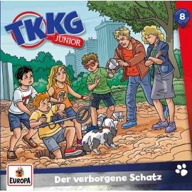 Europa - CD TKKG Junior - Der verborgene Schatz, Folge 8