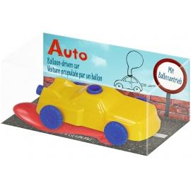 Die Spiegelburg - Bunte Geschenke - Auto mit Ballonantrieb, sort.