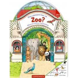 Coppenrath Verlag - Allererste Mitlesegeschichten - Was passiert hier im Zoo?