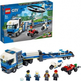 LEGO® City - 60244 Polizeihubschrauber-Transport