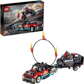 LEGO® Technic - 42106 Stunt-Show mit Truck und Motorrad