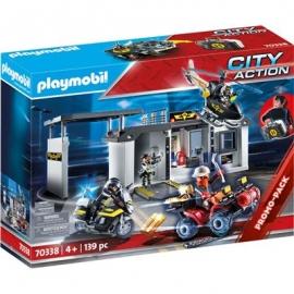 Playmobil® 70338 - City Action - Große Mitnehm-SEK-Zentrale