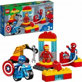 LEGO® DUPLO® - 10921 Marvel - Iron Mans Labor-Treffpunkt