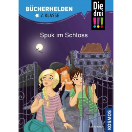 KOSMOS - Bücherhelden - Die drei !!! - Spuk im Schloss, 2. Klasse