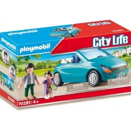 Playmobil® 70285 - City Life - Papa und Kind mit Cabrio