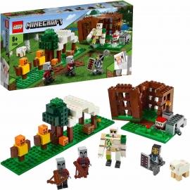 LEGO® Minecraft - 21159 Der Plünderer-Außenposten