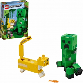 LEGO® Minecraft - 21156 BigFig Creeper und Ozelot