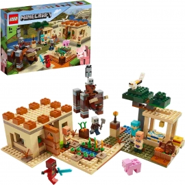 LEGO® Minecraft - 21160 Der Illager-Überfall