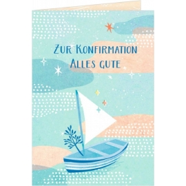 Coppenrath Verlag - Grußkarte - Zur Konfirmation alles Gute